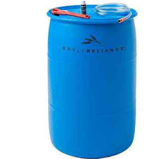 Shelf Reliance Water Storage