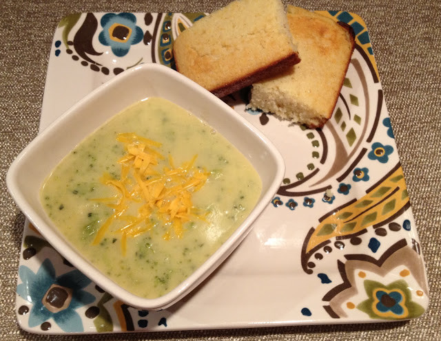 THRIVE Express Broccoli Cheese Soup