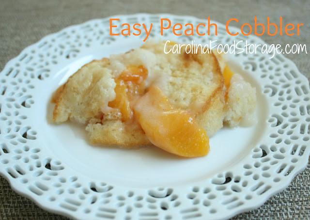 Shelf Reliance Peach Cobbler