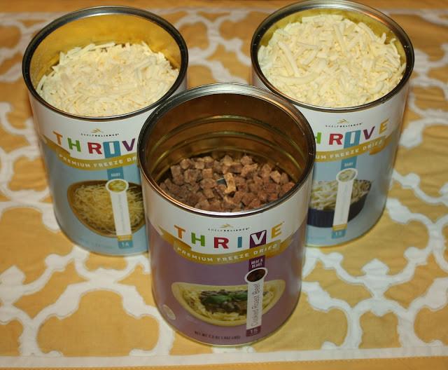 Shelf Reliance Freeze Dried Roast Beef Cheese