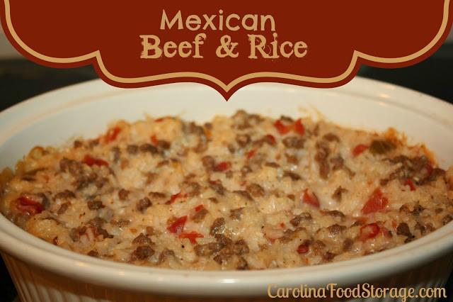 Shelf Reliance THRIVE Freeze Dried Ground Beef White Rice