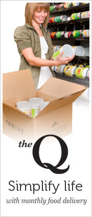The Q - Simplify life with monthly food delivery