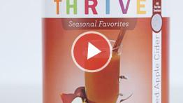 THRIVE TIP: Apple Cider