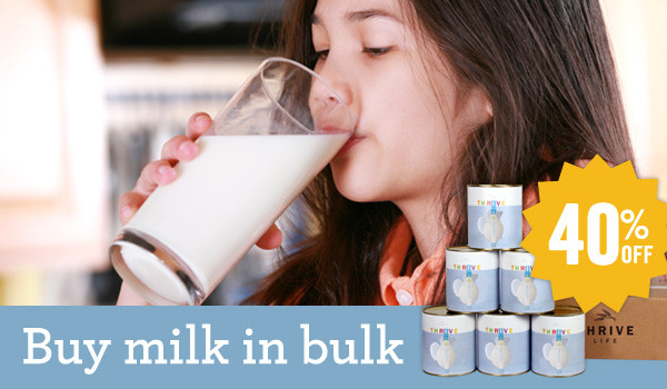 Buy Milk in Bulk - Now 42% Off