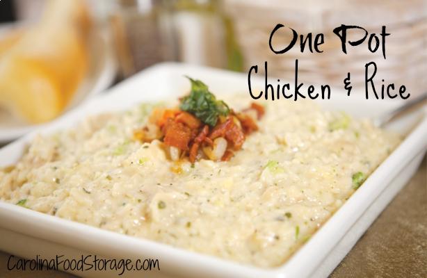 chicken rice food storage