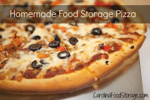 thrive freeze dried food storage pizza slice